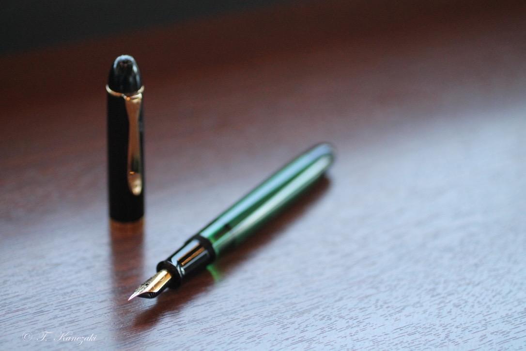 ペリカン M120 グリーン・ブラック